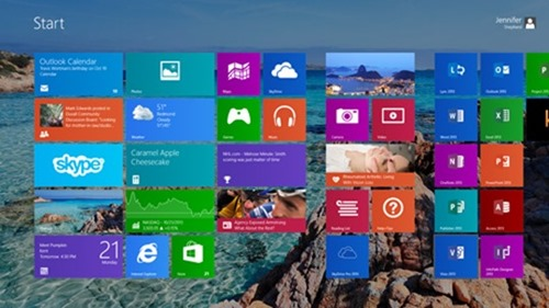 Windows themes and wallpapers – now on your Start screen ...