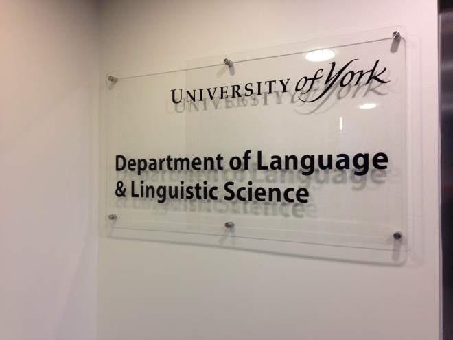There is a reason that it's not just the Department of Languages!