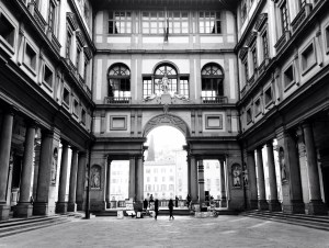The Uffizi in Florence. Credit: Ozge Can / Flickr (CC BY 2.0)