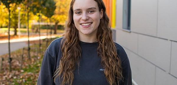 Student blogger, Rosie