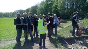 University of York Archaeology excavation field trip