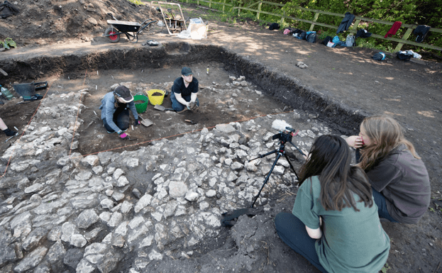 Day in the life of a second year Archaeology student