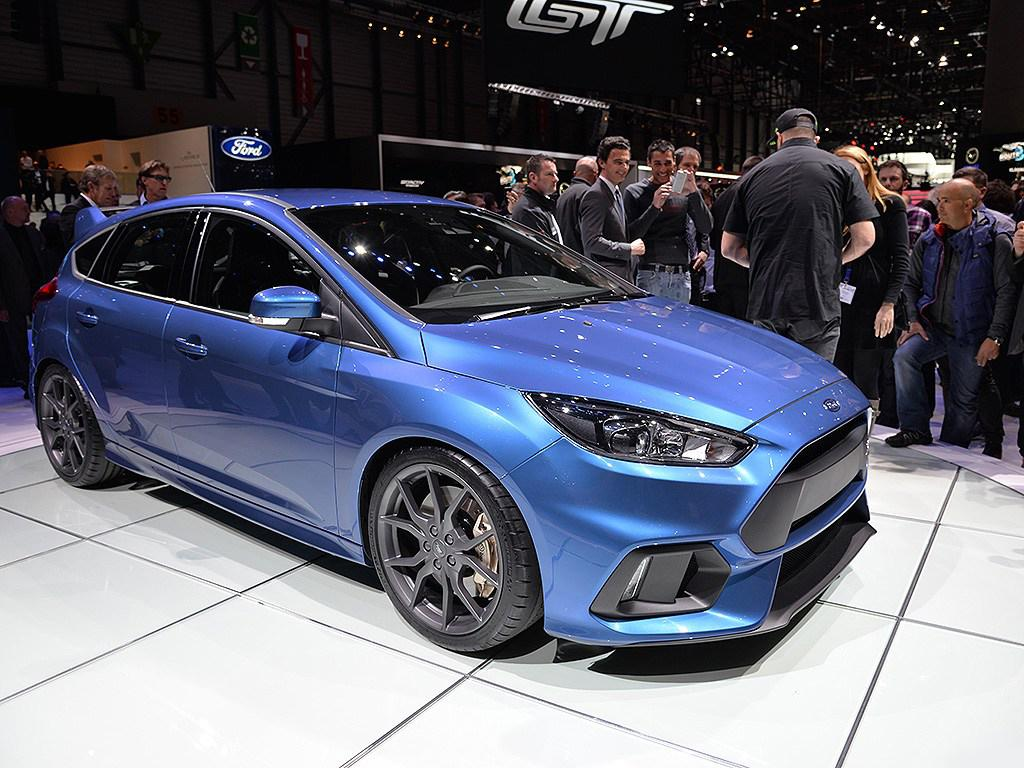 Live From Geneva 2016 Ford Focus Rs With 29 Hd Photos