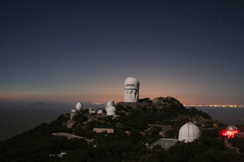Kitt Peak by moonlight