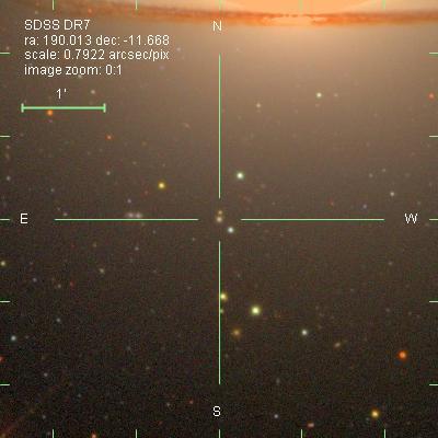 SDSS UCD Sombrero