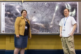Pamela Gay, Stuart Robbins, at LPSC 2011