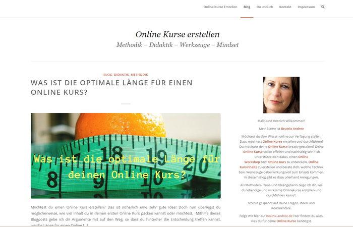Reife Online-Blogs