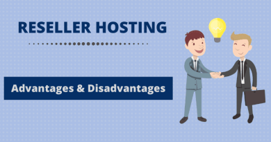 reseller hosting disadvantages advantages