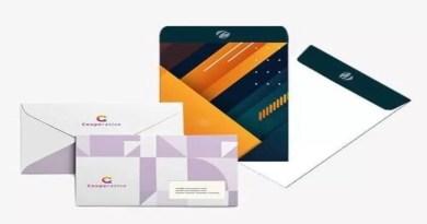 Custom printed envelope printing