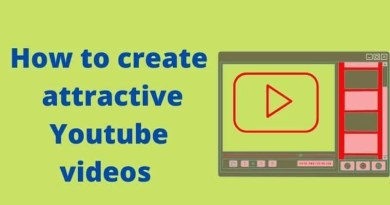 How to create an attractive Youtube videos