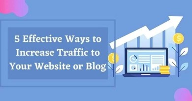 5 Effective Ways to Increase Traffic to Your Website or Blog