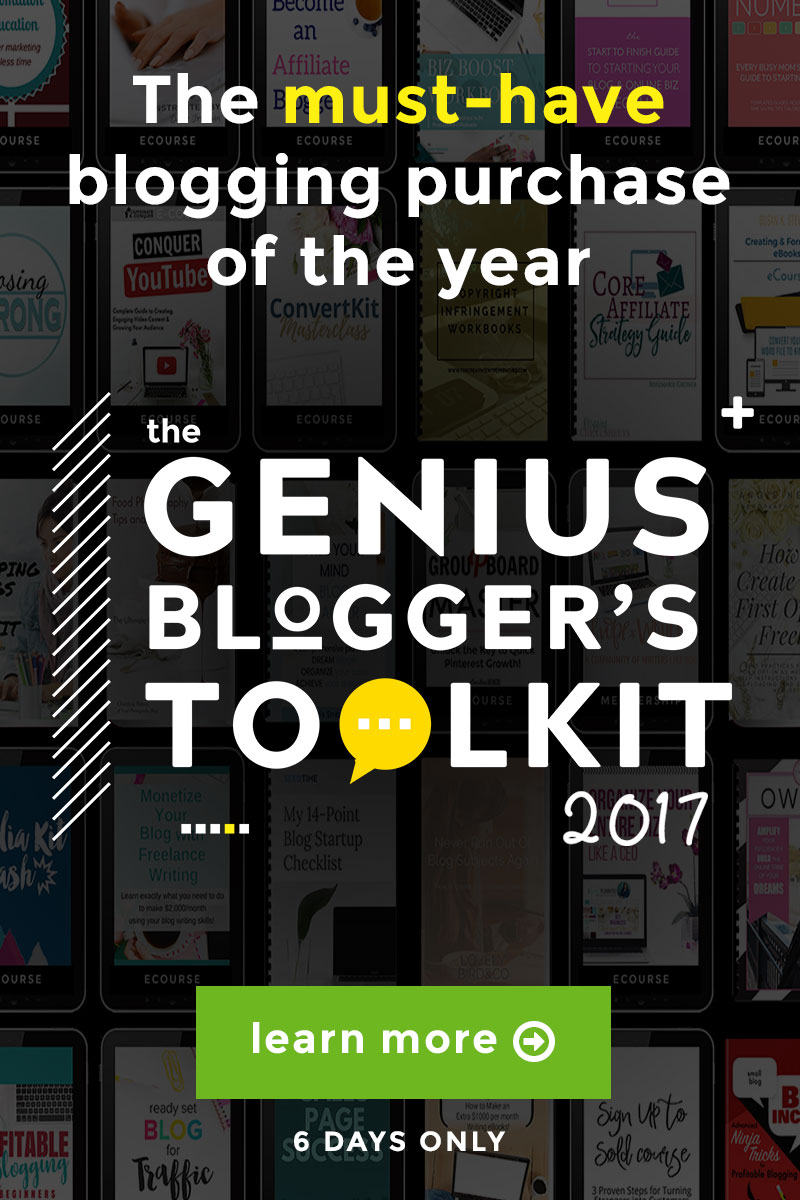 Genius Blogger's Toolkit: Best Resources for Successful Bloggers