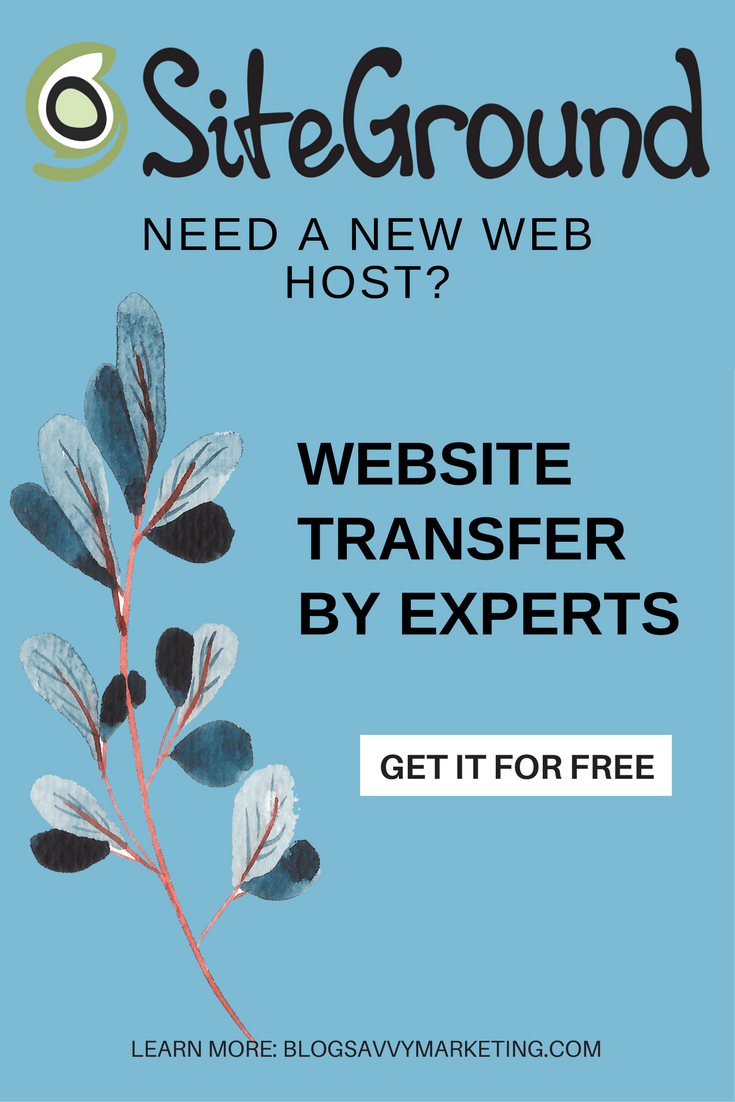 Get free website transfer with SiteGround. Start your hosting account now and get your blog moved for free.