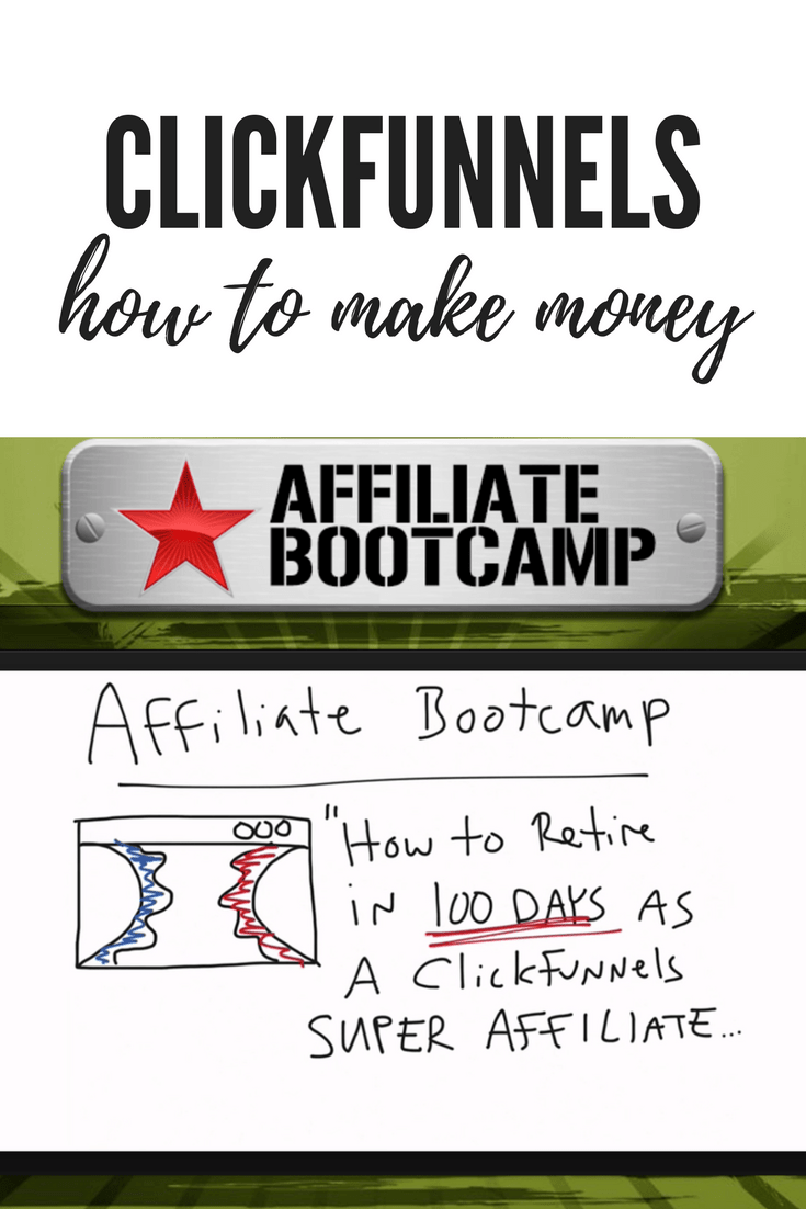 How to make money with ClickFunnels affiliate program. Join the affiliate bootcamp now and learn how.
