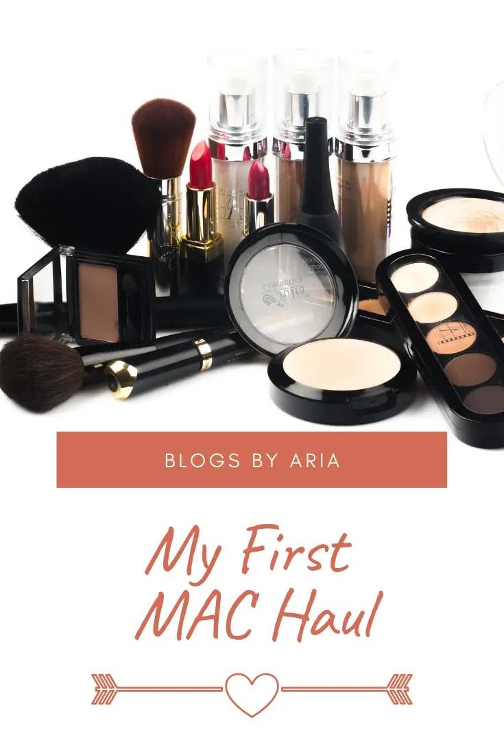 My First MAC Haul