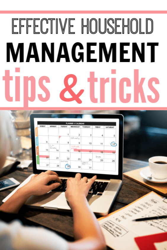 effective household management tips