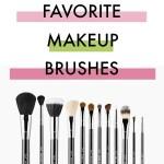 My Top 10 Favorite Makeup Brushes