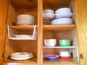 Mission Organization ~ Kitchen Cabinets 1