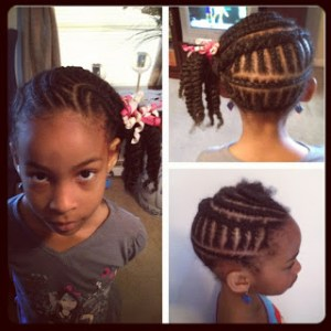 Brianna's Hair Series ~ Twists to the Side