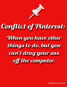Conflict of Pinterest