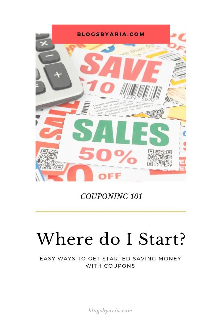 Couponing 101 - Where do I Start?