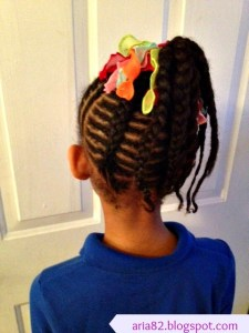 Brianna's Hair Series ~ Fishbone Side Pony