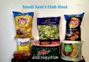 Small Sam's Club Haul