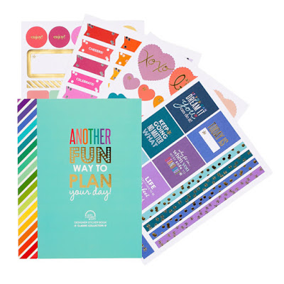Erin Condren Life Planner Wishlist designer sticker book