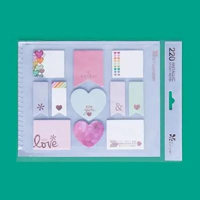 Erin Condren Life Planner Wishlist stylized sticky notes