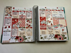 #PlanwithAria   GlamPlanner Spread