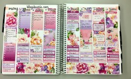 May Monthly Planner Spreads
