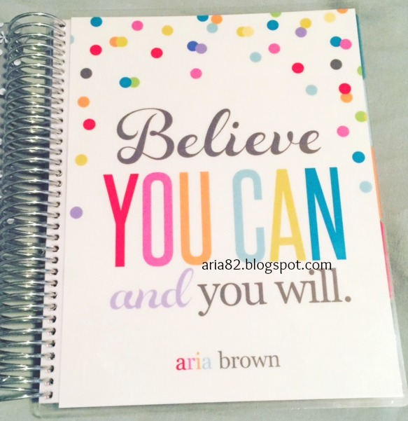 My 2nd Erin Condren Life Planner - 2016