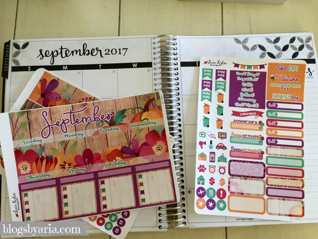 Lexie Kylee Designs September monthly kit