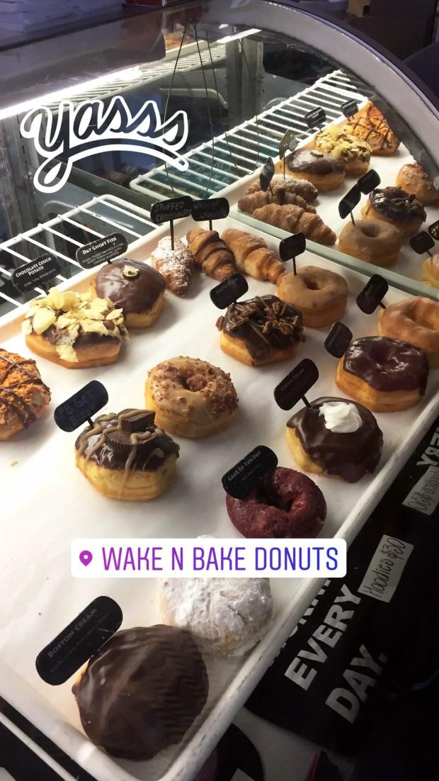 Wake n' bake donuts