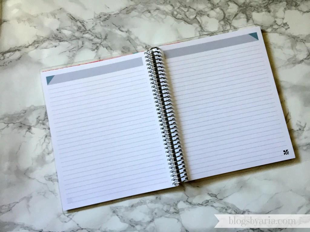Erin Condren notebook