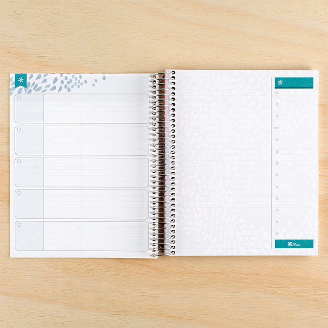 Erin Condren monthly deluxe planner productivity pages