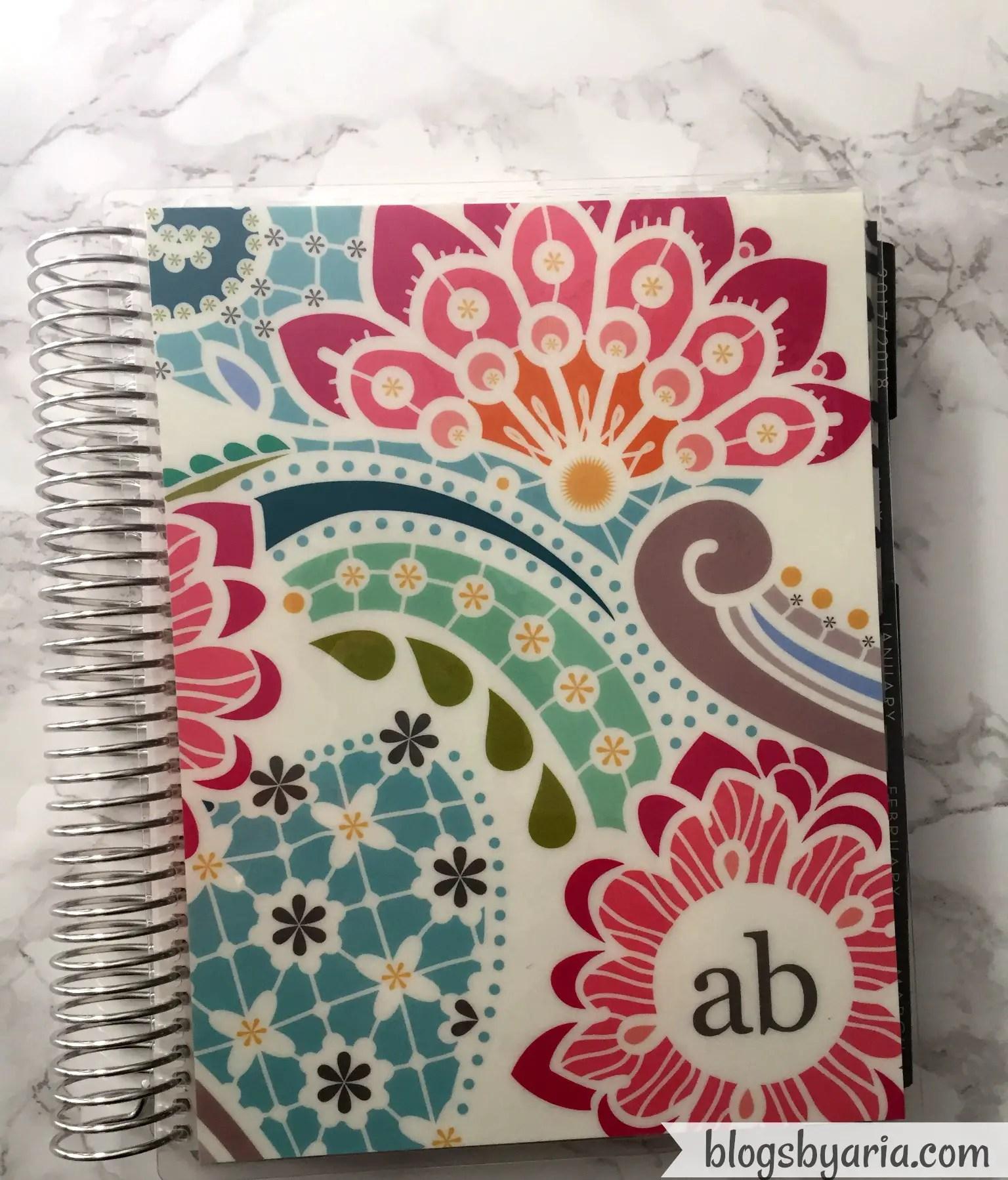 Erin Condren Paisley Planner Cover