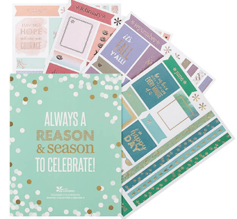 Erin Condren Sticker Books