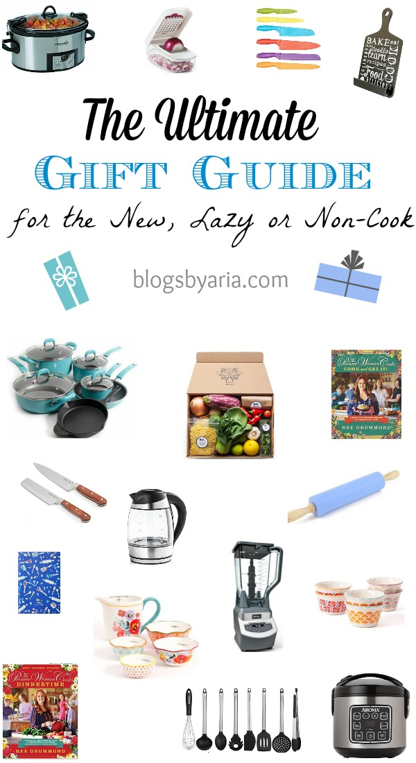 The Ultimate Gift Guide for New Cooks, Lazy Cooks or Non-Cooks