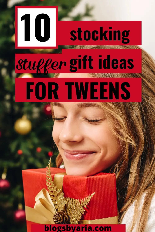 stocking stuffer gift ideas for tweens