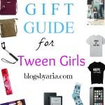 gift guide for Tween Girls