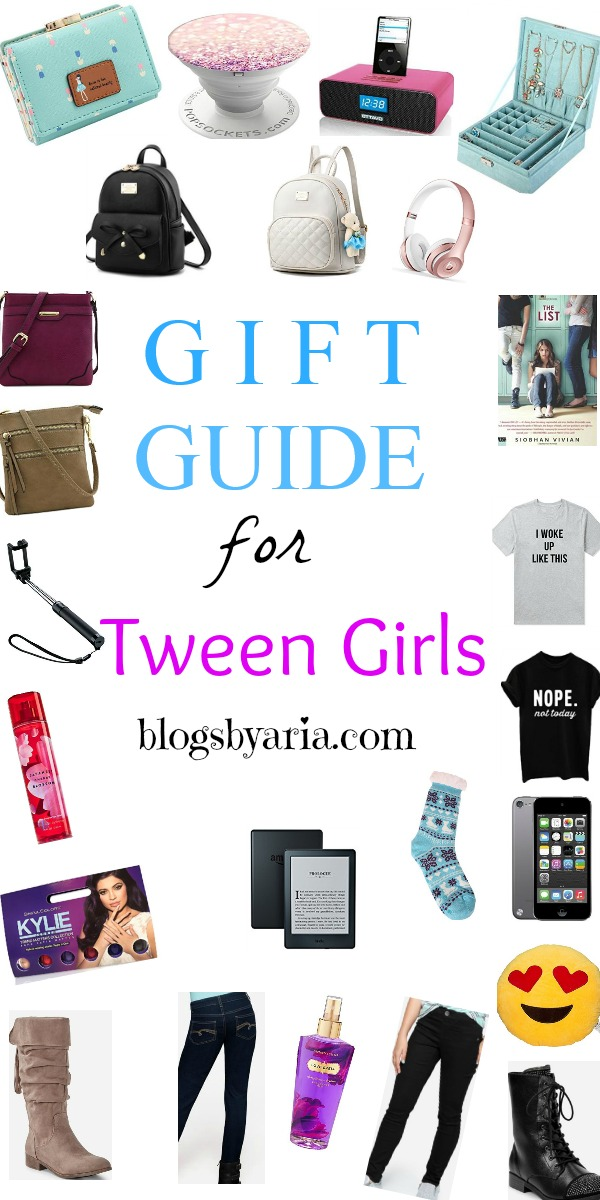 Gift Guide for Tween Girls - the perfect roundup of gifts your tween girl is sure to love