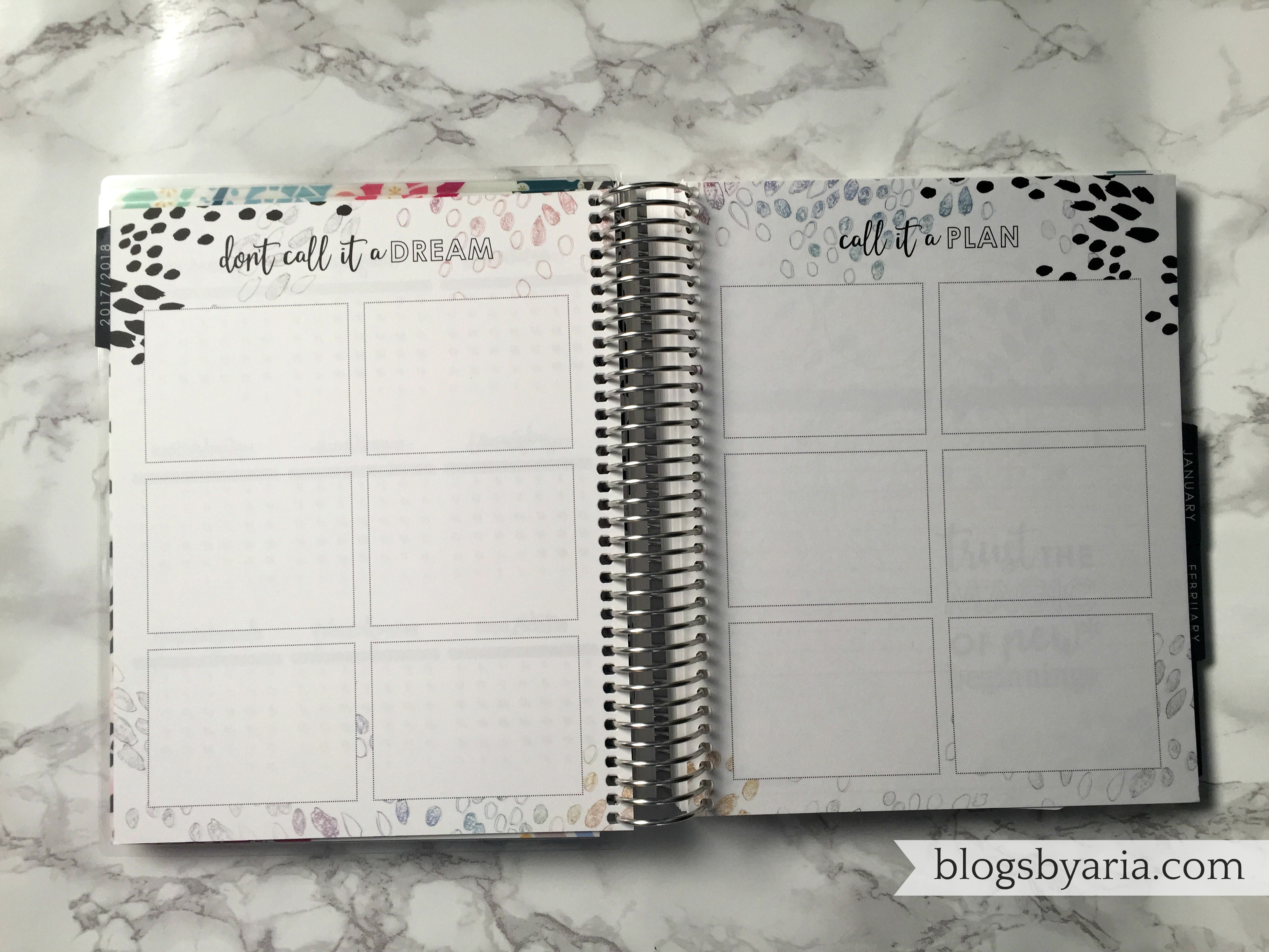 Make Goals -- Prepping Your Planner for the New Year
