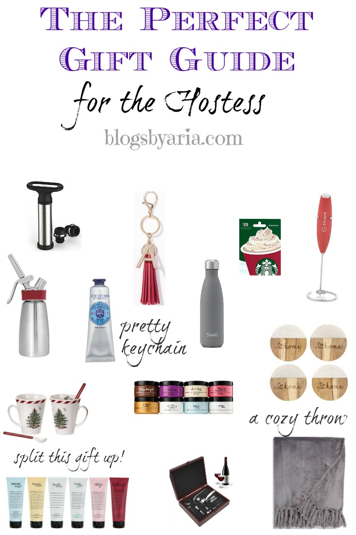 The Perfect Gift Guide for the Hostess