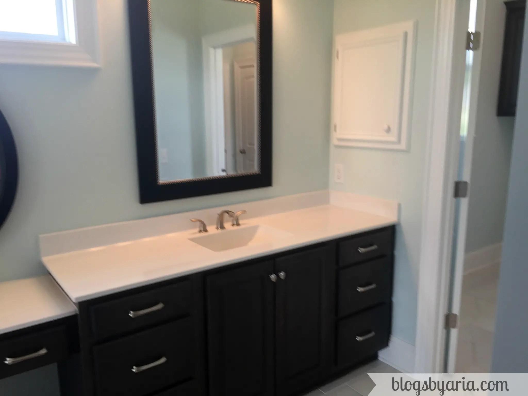 master bathroom house tour