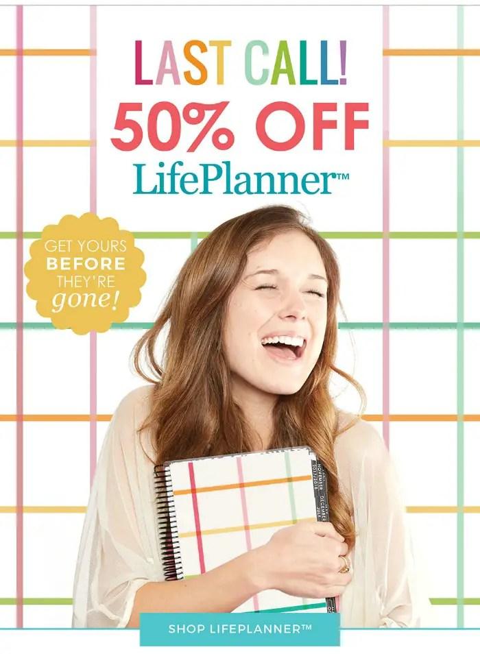 Get 40% off your Erin Condren Life Planner NOW!!