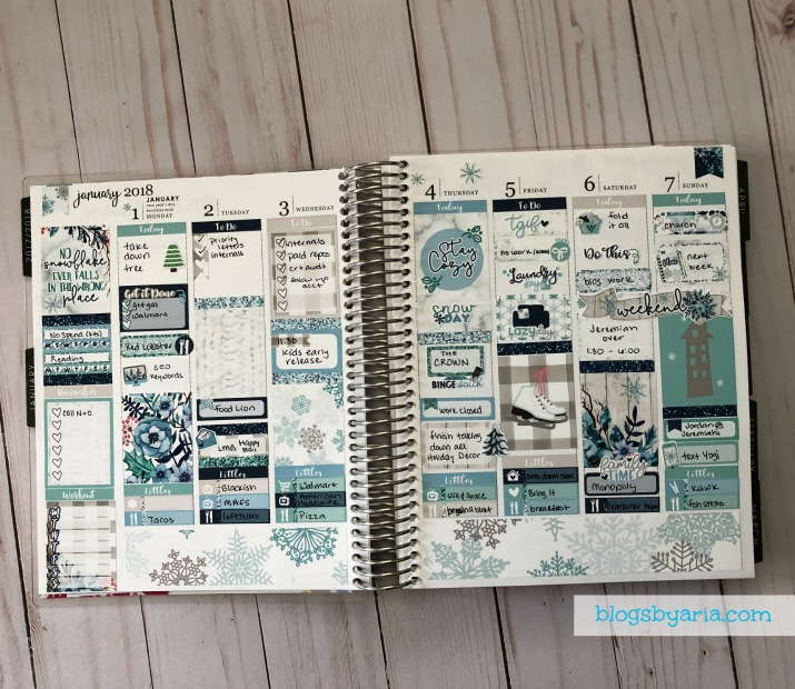 Creative planning in your planner