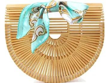 top handle bamboo bag #mothersday
