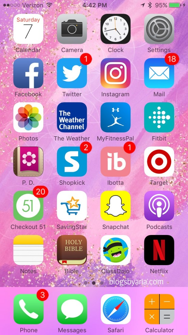 what's on my iPhone