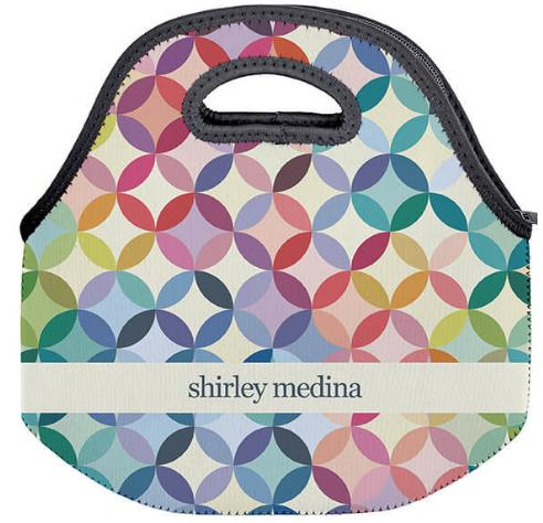 Erin Condren Mid Century Circles Lunch Tote